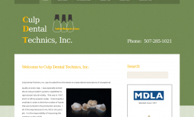 Culp Dental Technics, Inc.