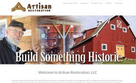 Artisan Restoration Redesign